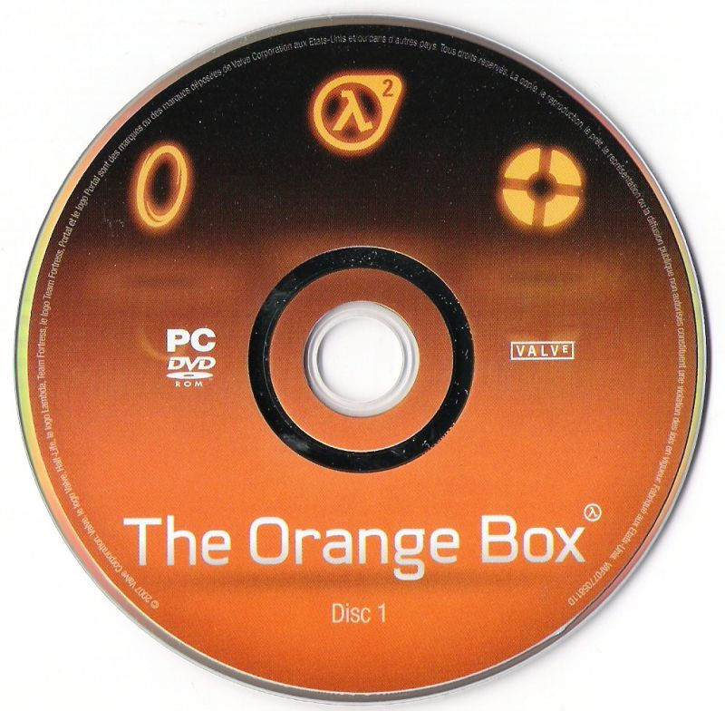 The Orange Box Windows Media DVD disk 1/2