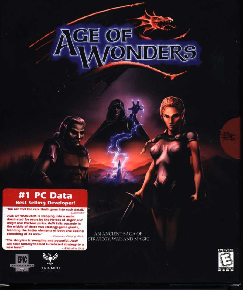 Age of Wonders Windows Front Cover