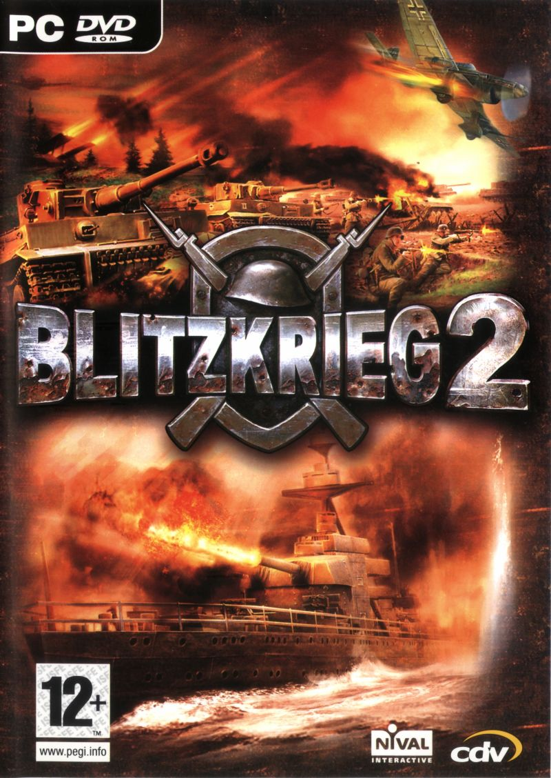 Blitzkrieg 2 Windows Front Cover