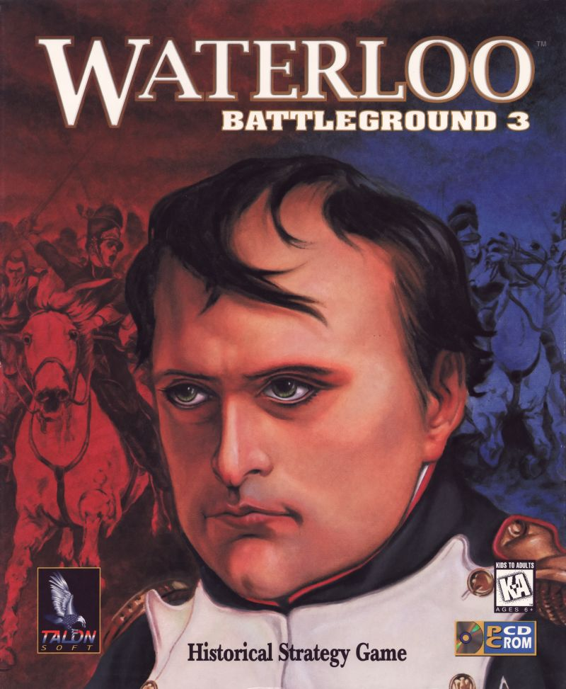 Battleground 3: Waterloo  Windows Front Cover