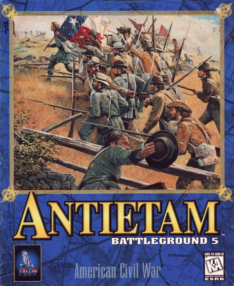 Battleground 5: Antietam Windows Front Cover