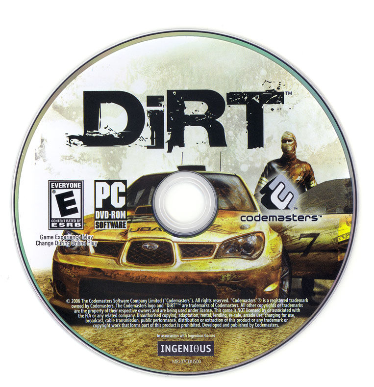 DiRT Windows Media