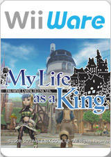 Final Fantasy: Crystal Chronicles - My Life as a King Wii Front Cover