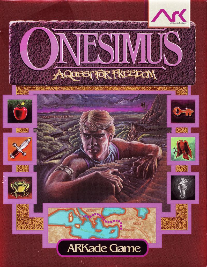 Onesimus: A Quest for Freedom DOS Front Cover
