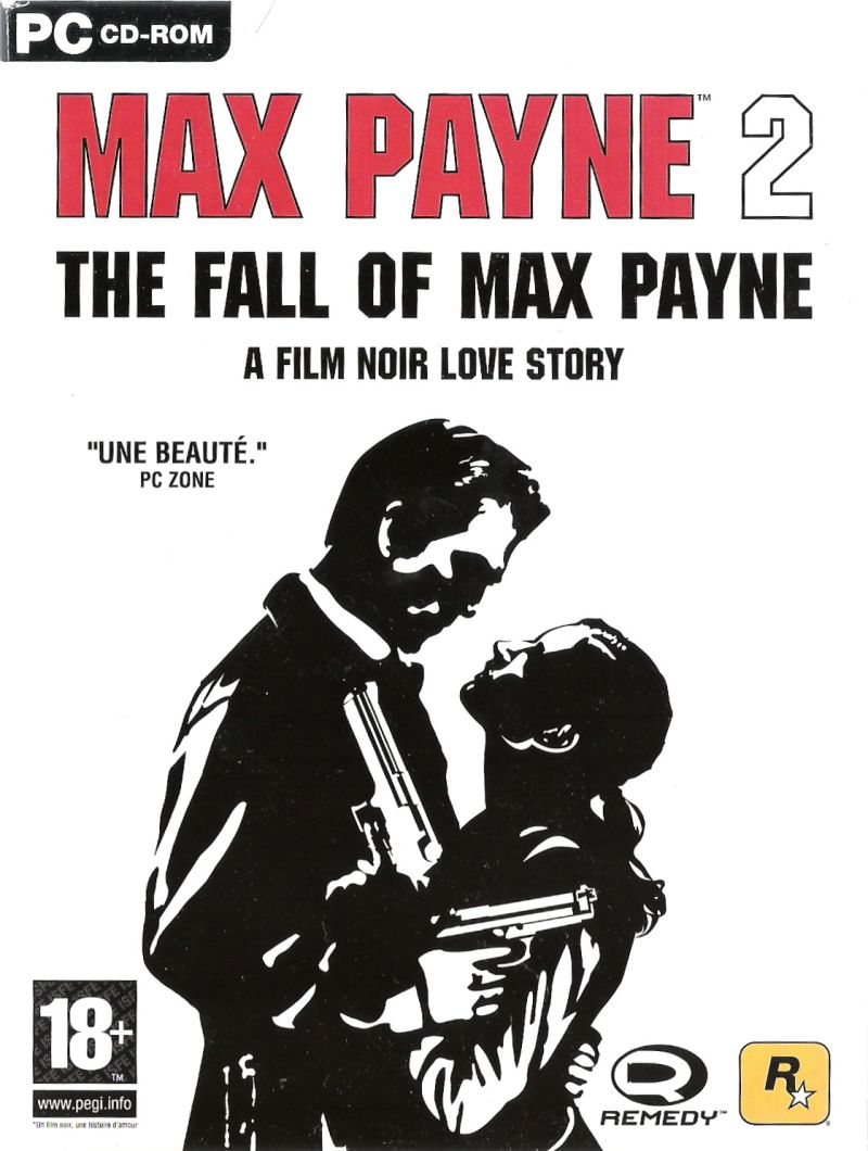 Max Payne 2 The Fall Of Max Payne 2003 Box Cover Art Mobygames