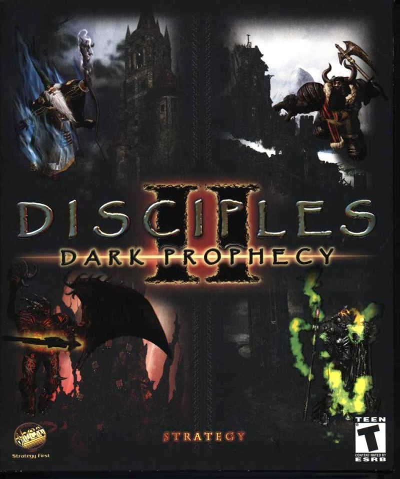 Disciples II: Dark Prophecy Windows Front Cover