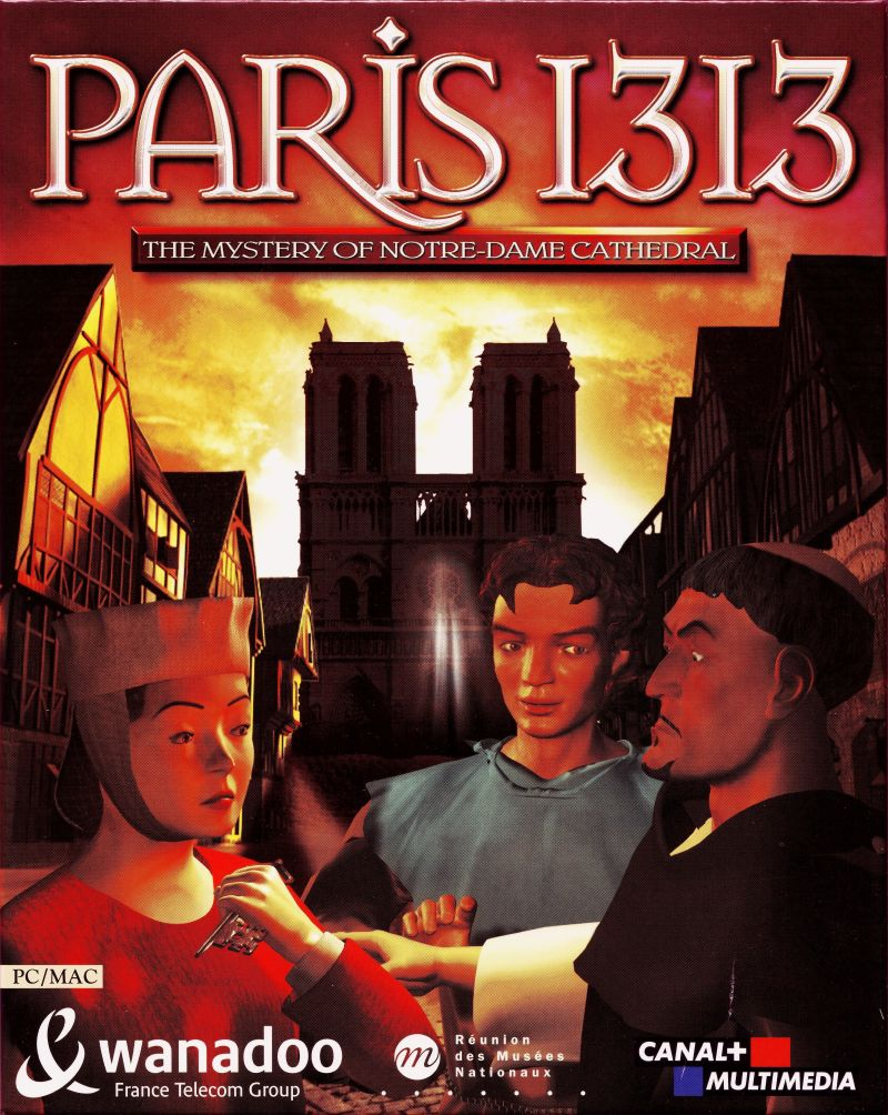 Paris 1313: The Mystery of Notre-Dame Cathedral