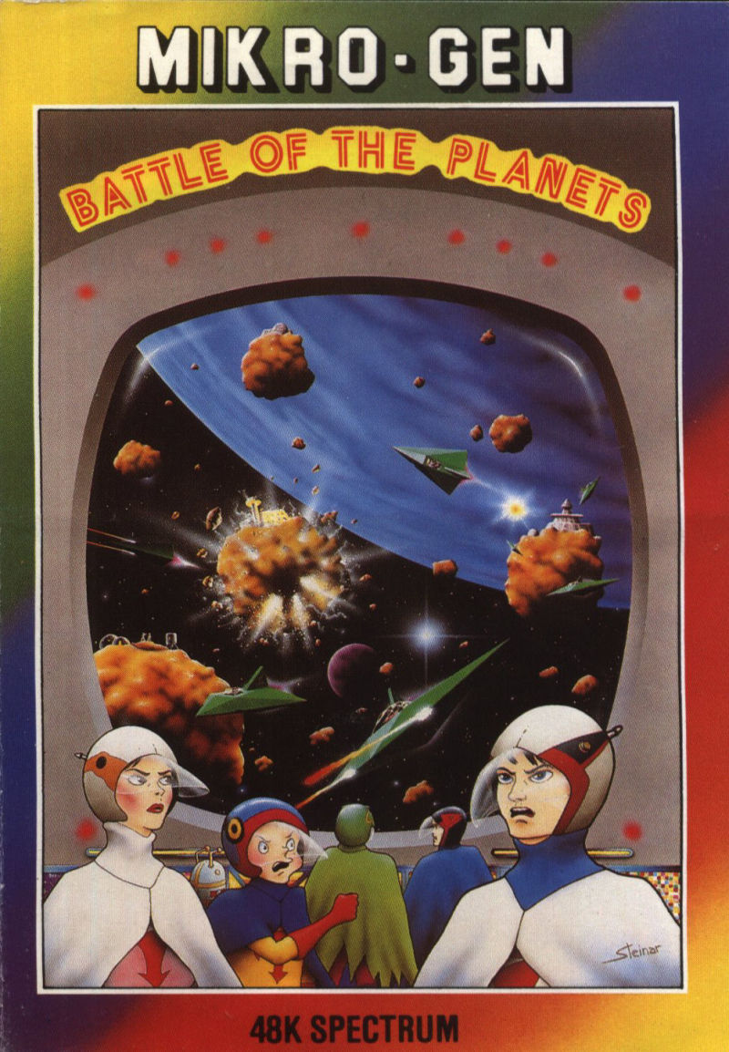 Battle of the Planets ZX Spectrum Front Cover