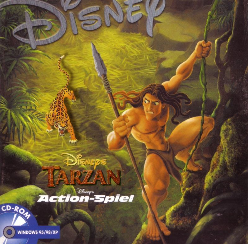 Disney's Tarzan Windows Front Cover