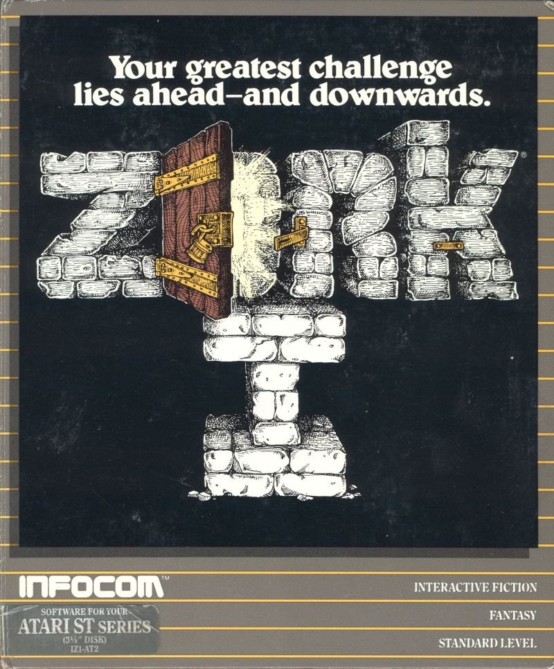 Zork: The Great Underground Empire Atari ST Front Cover