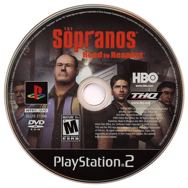 The Sopranos: Road to Respect PlayStation 2 Media