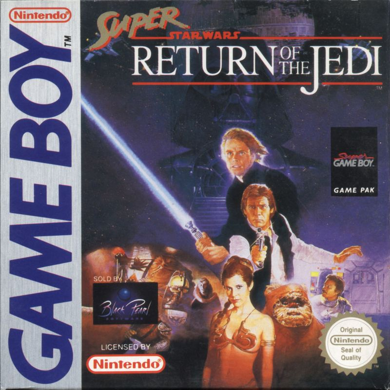 Super Star Wars: Return of the Jedi Game Boy Front Cover