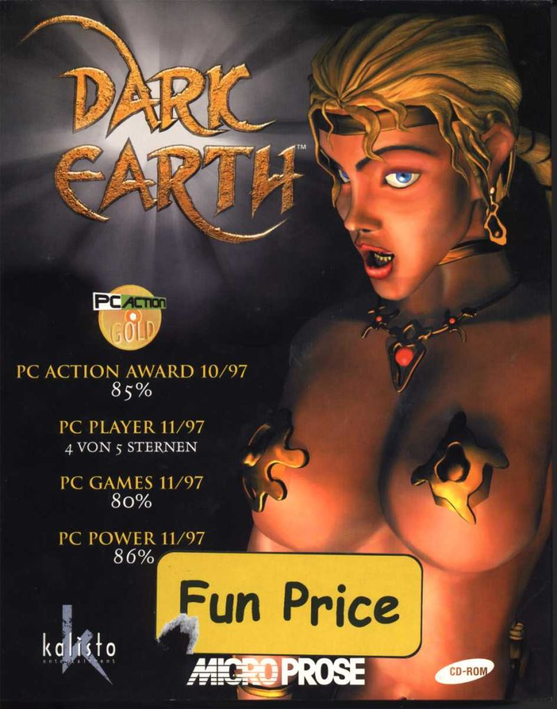 Dark Earth Windows Front Cover