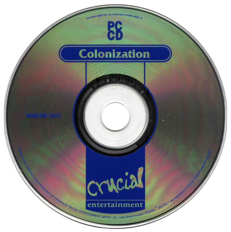 Sid Meier's Colonization DOS Media