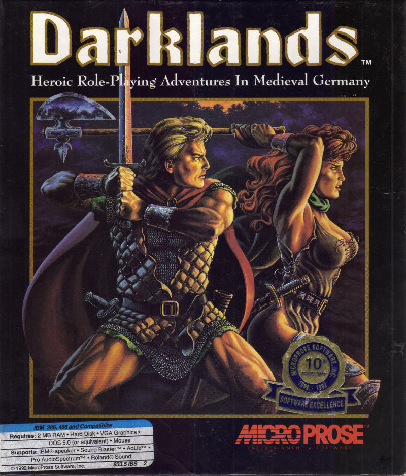 Darklands DOS Front Cover