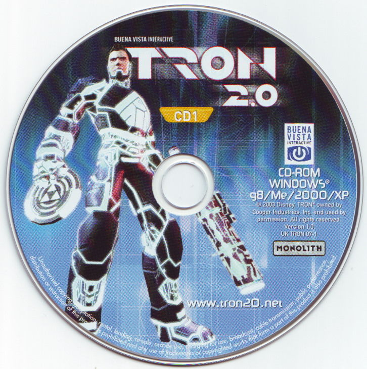 TRON 2.0 Windows Media