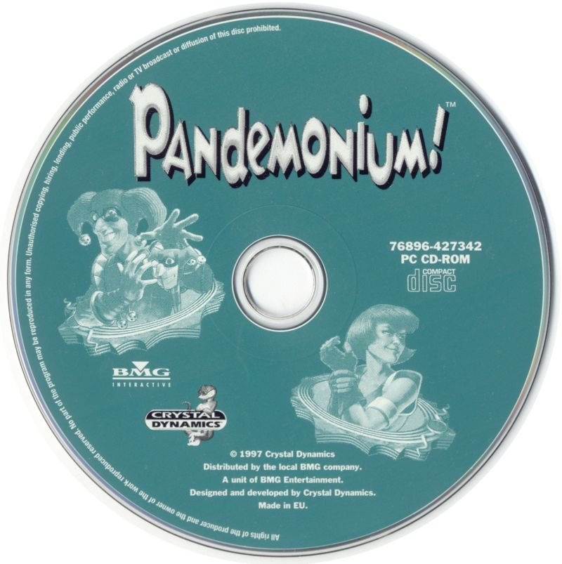 Pandemonium! Windows Media