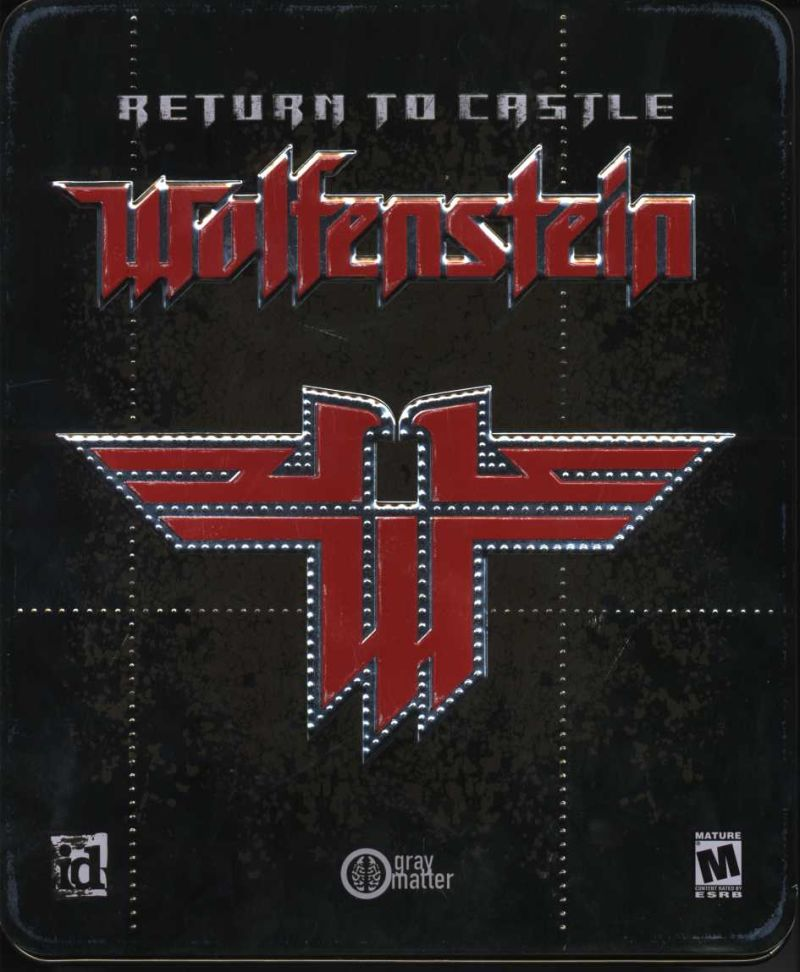 Return to Castle Wolfenstein (Collector's Edition) Windows Front Cover