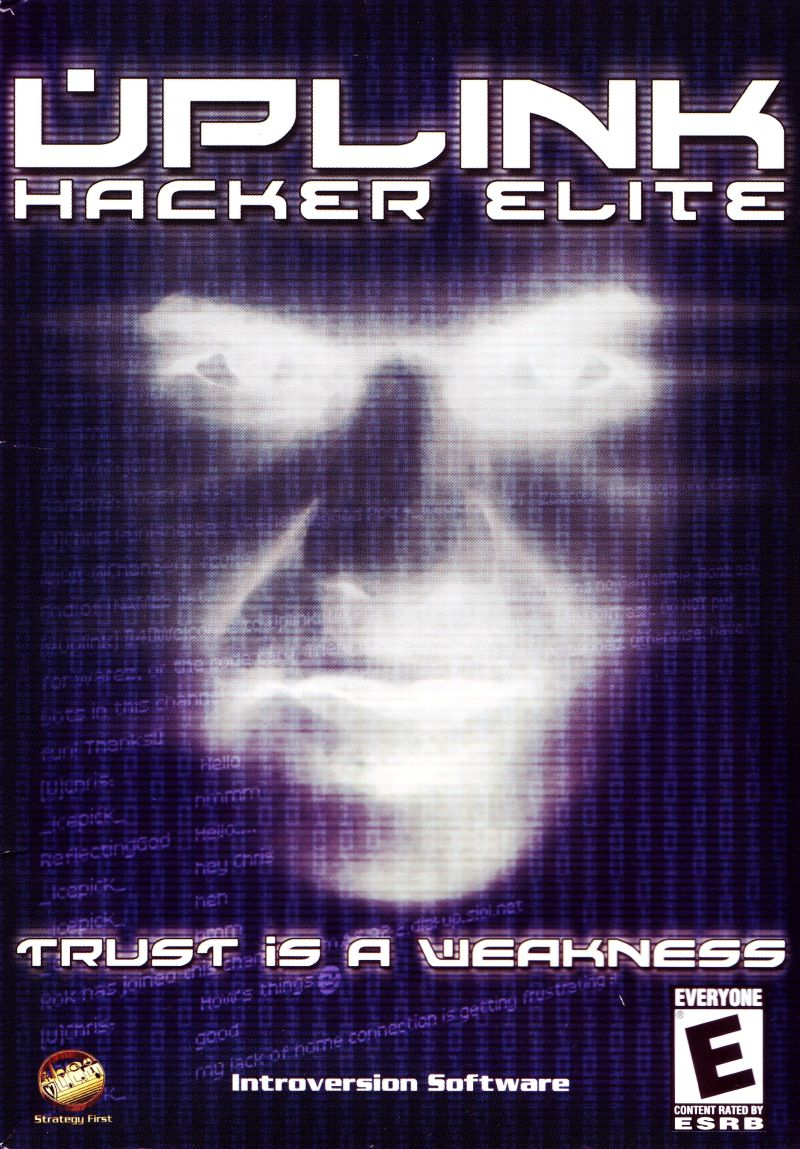 Uplink: Hacker Elite Windows Front Cover