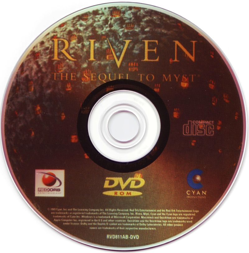 Riven: The Sequel to Myst Windows Media