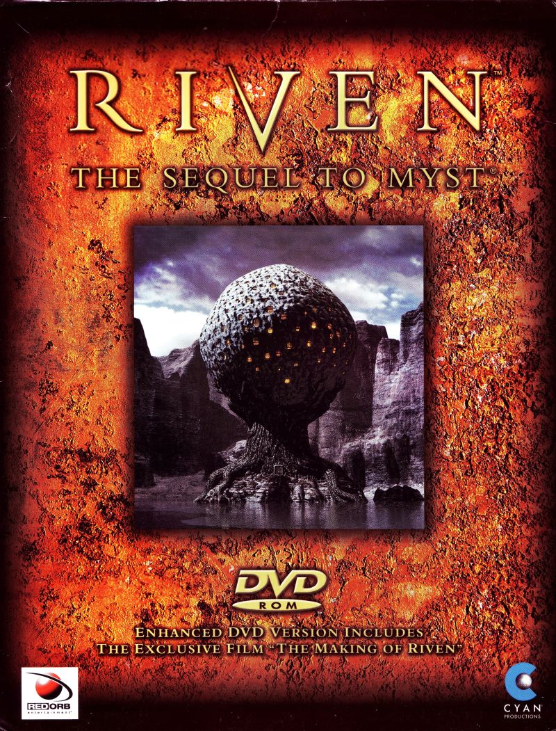 Riven: The Sequel to Myst Windows Front Cover