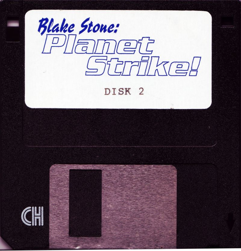 "Blake Stone: Planet Strike! DOS Media 3.5"" Disk 2/2"