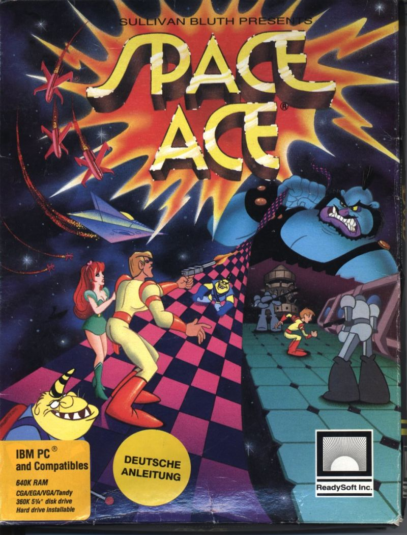 Space Ace DOS Front Cover