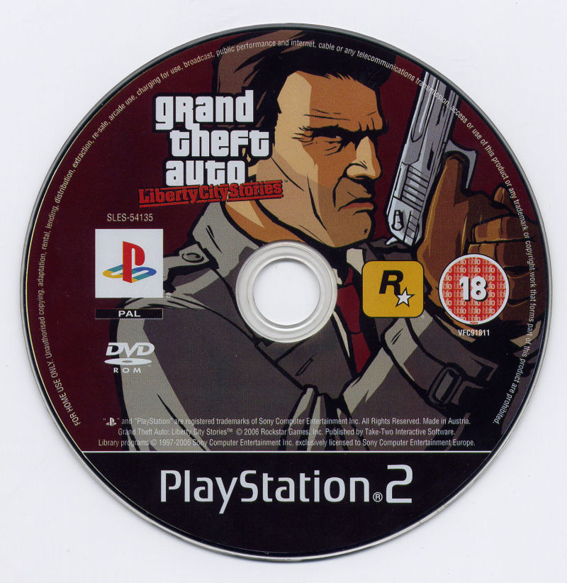 Grand Theft Auto: Liberty City Stories PlayStation 2 Media