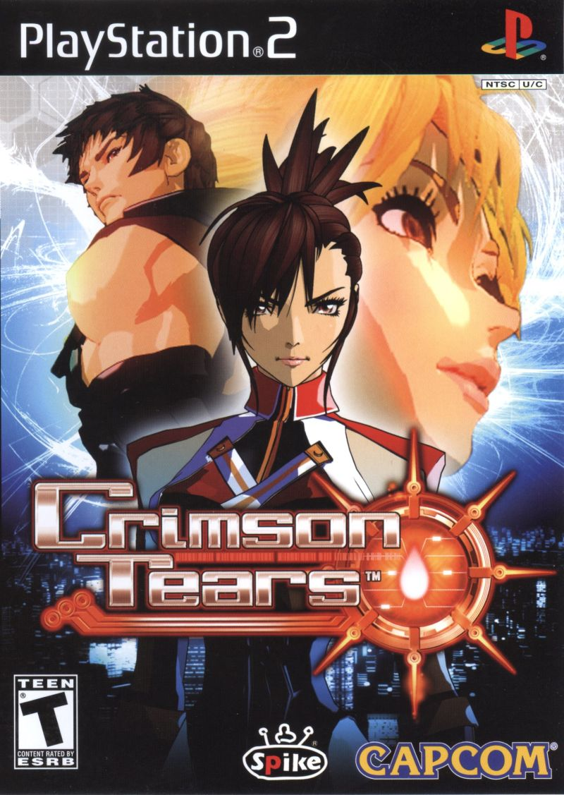 Crimson Tears PlayStation 2 Front Cover