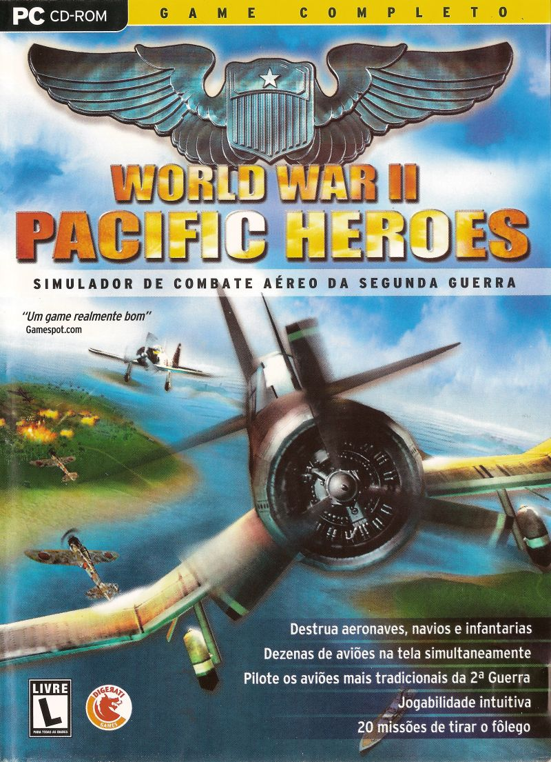 World War II: Pacific Heroes Windows Front Cover