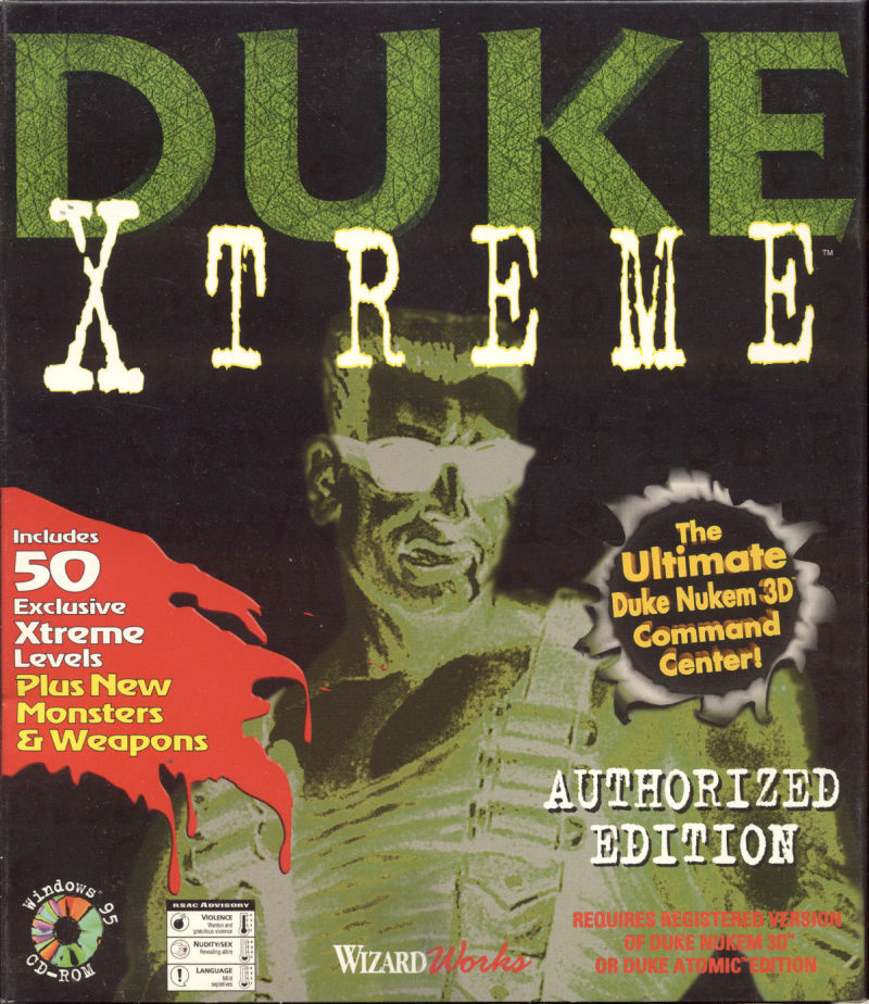 Duke Xtreme Windows Front Cover