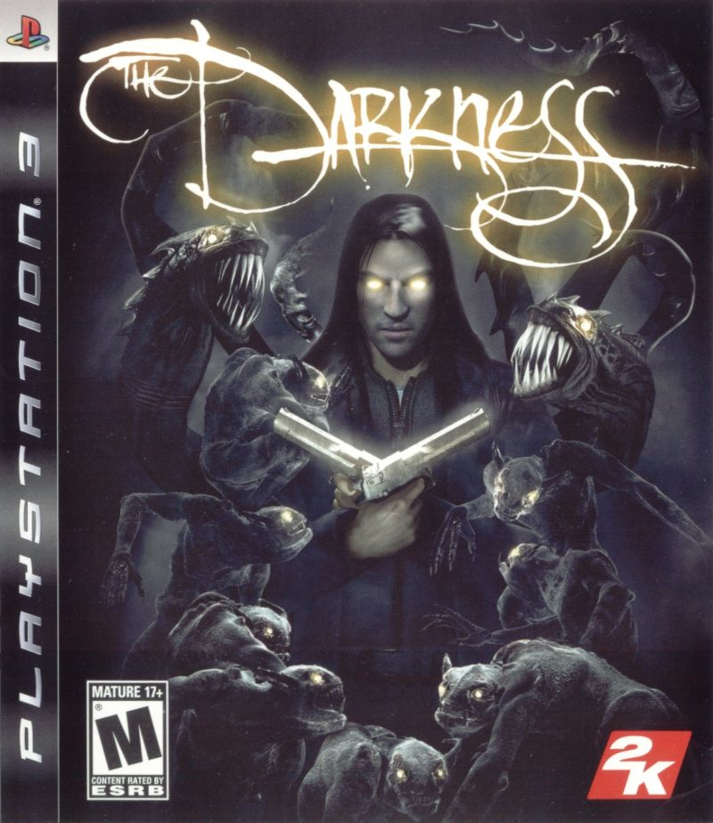 The Darkness PlayStation 3 Front Cover