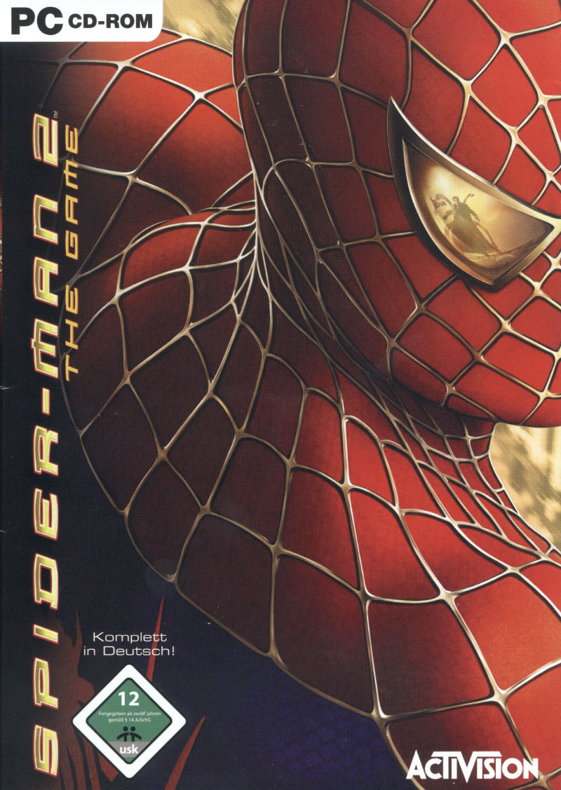 Spider-Man 2: The Game Windows Front Cover