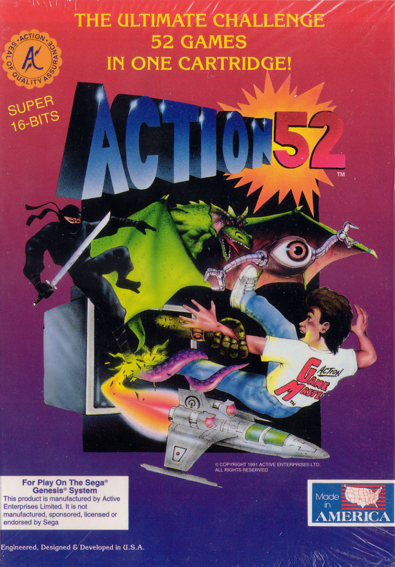 Action 52 Genesis Front Cover