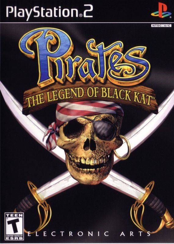 Pirates: The Legend of Black Kat PlayStation 2 Front Cover