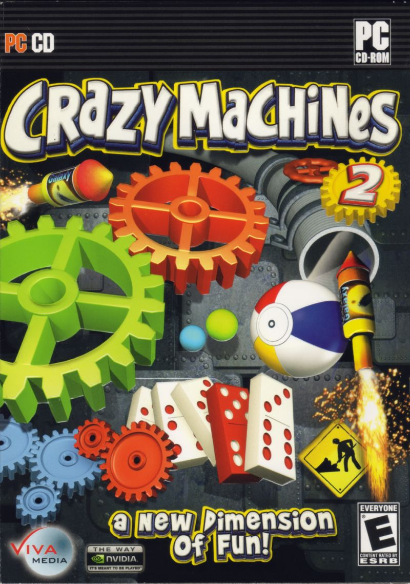 Crazy Machines 2 Windows Front Cover