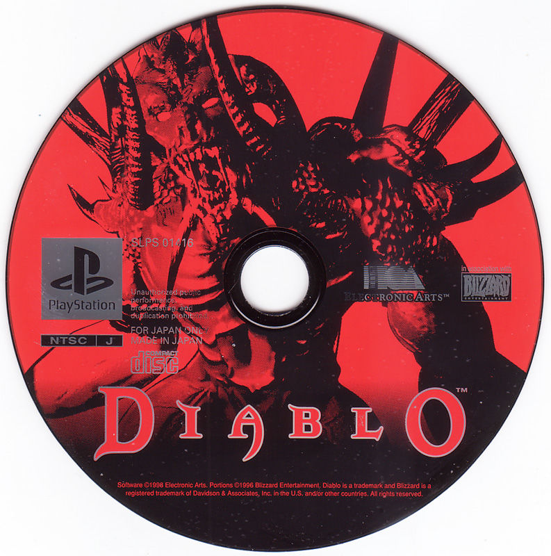Diablo PlayStation Media
