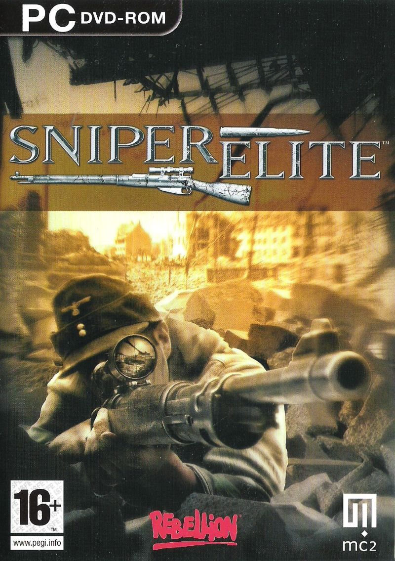 Sniper Elite Windows Front Cover