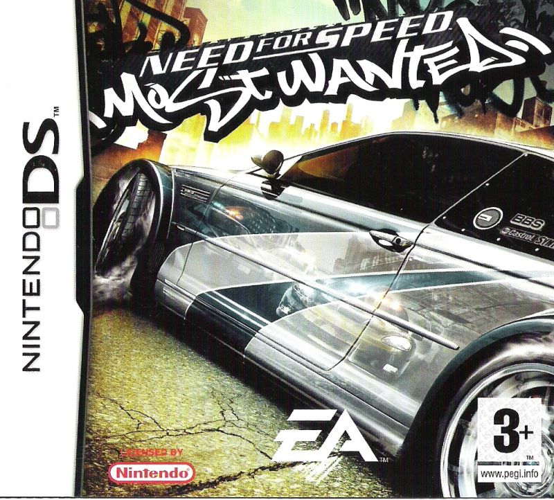 Need for Speed: Most Wanted Nintendo DS Front Cover
