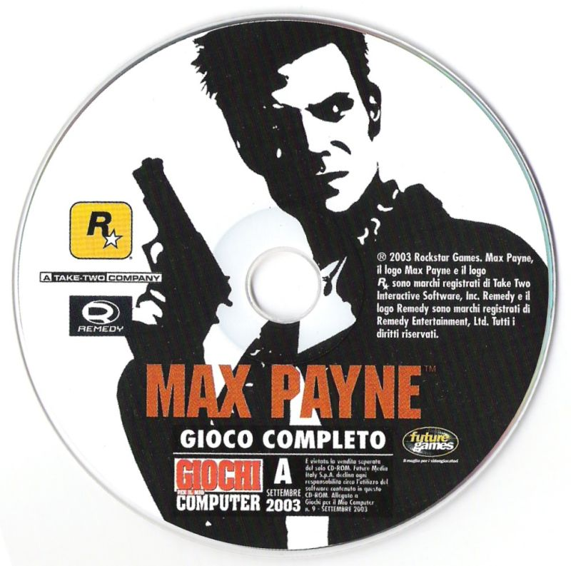 Max Payne Windows Media