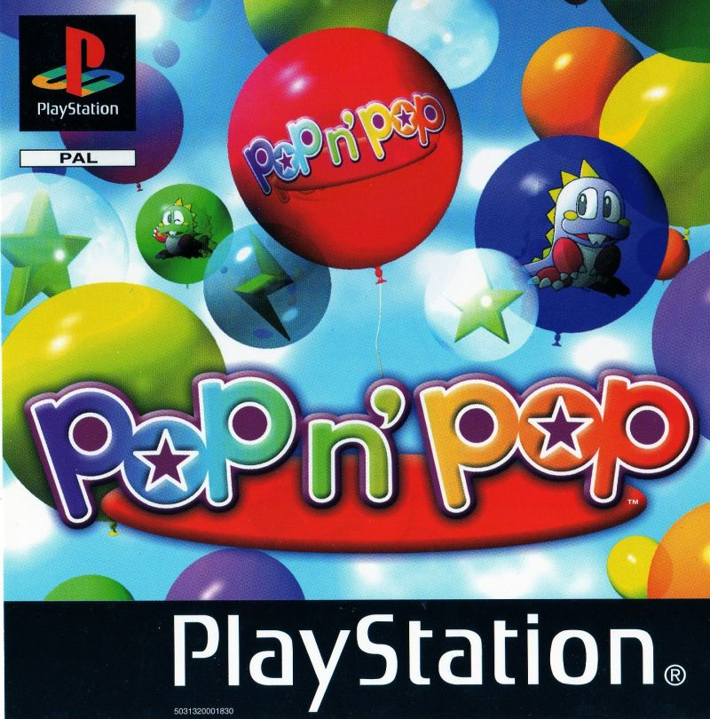 Pop'n Pop PlayStation Front Cover