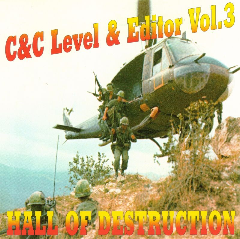 C&C Level & Editor Vol.3: Hall of Destruction DOS Front Cover