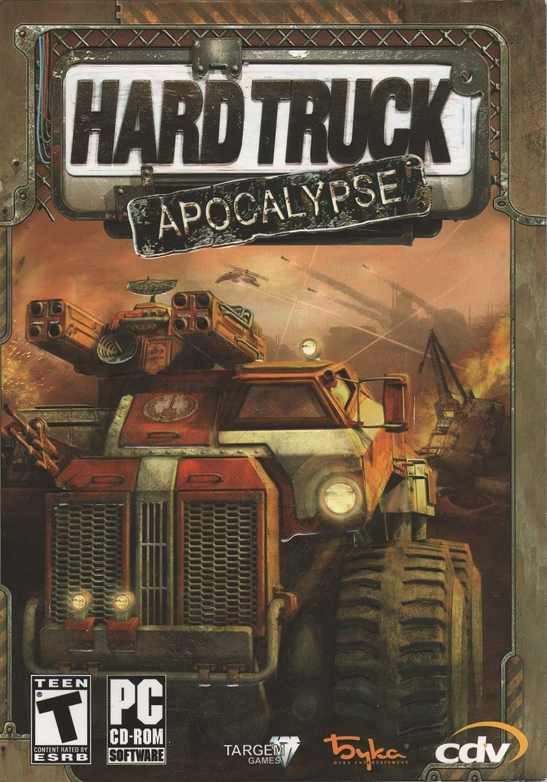 Hard Truck: Apocalypse Windows Front Cover