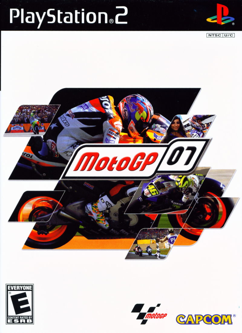 MotoGP 07 (2007) PlayStation 2 box cover art - MobyGames