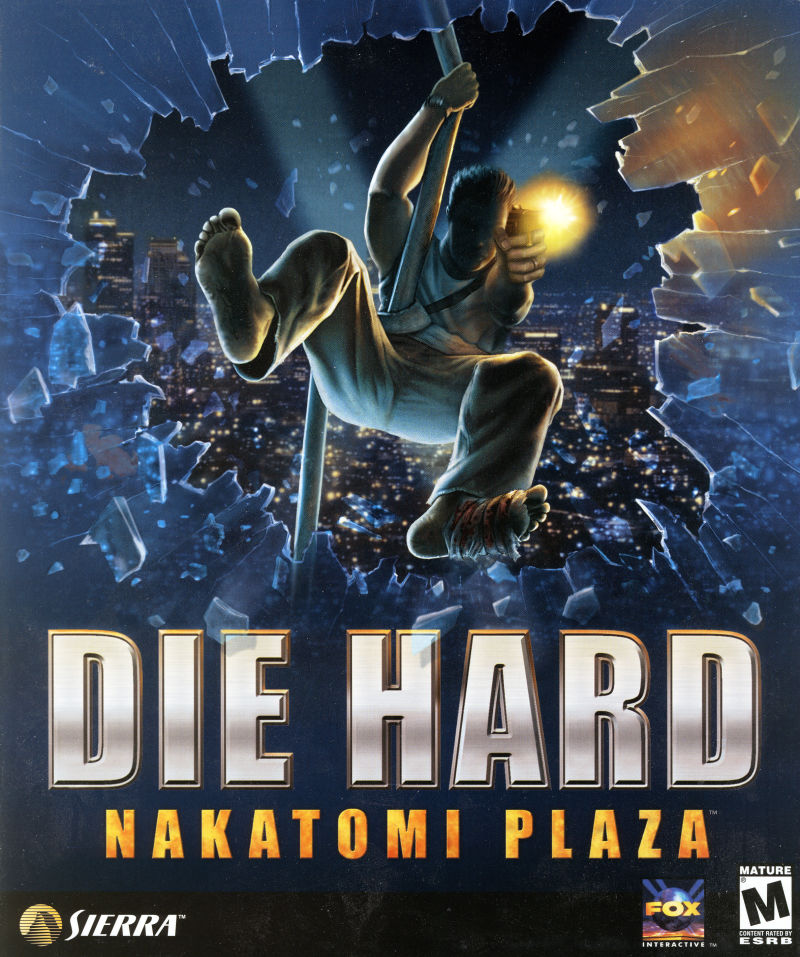 Die Hard: Nakatomi Plaza Windows Front Cover