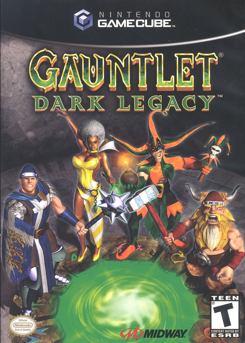 Gauntlet: Dark Legacy GameCube Front Cover