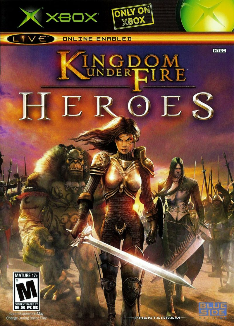 Kingdom Under Fire: Heroes Xbox Front Cover