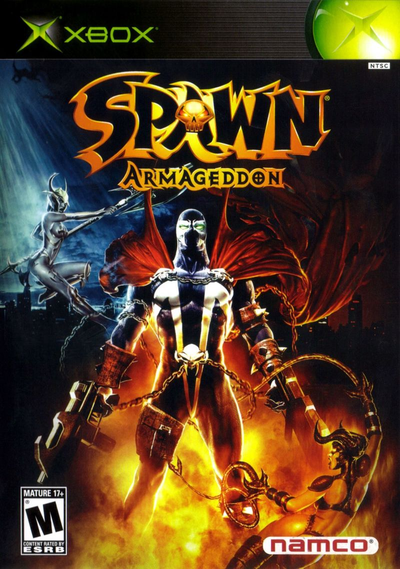 Spawn: Armageddon Xbox Front Cover