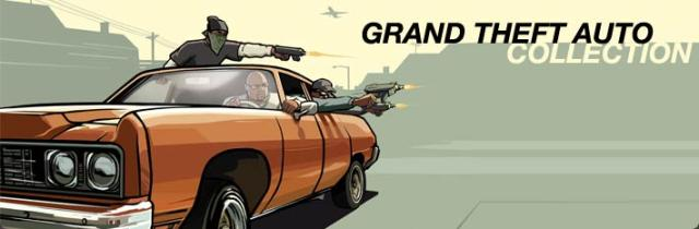 Grand Theft Auto: Collection Windows Front Cover