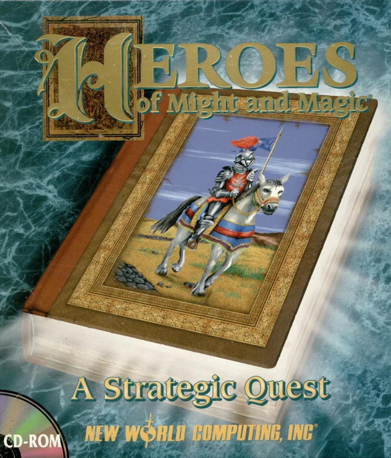 Heroes of Might and Magic DOS Front Cover